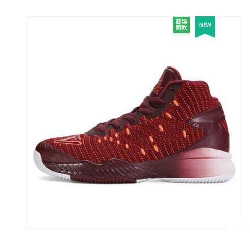 Мужские туфли 2018 новая сетка легкие сапоги кроссовки Нескользящие износостойкие тканые Баскетбол пик ботинки