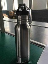 Kostenloser versand edelstahl 304 flaschenkühler keeper BPA FREI