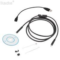 3 5m Waterproof Endoscope Mini HD Camera Snake Tube 5 5 Mm Lens Rigid Cable