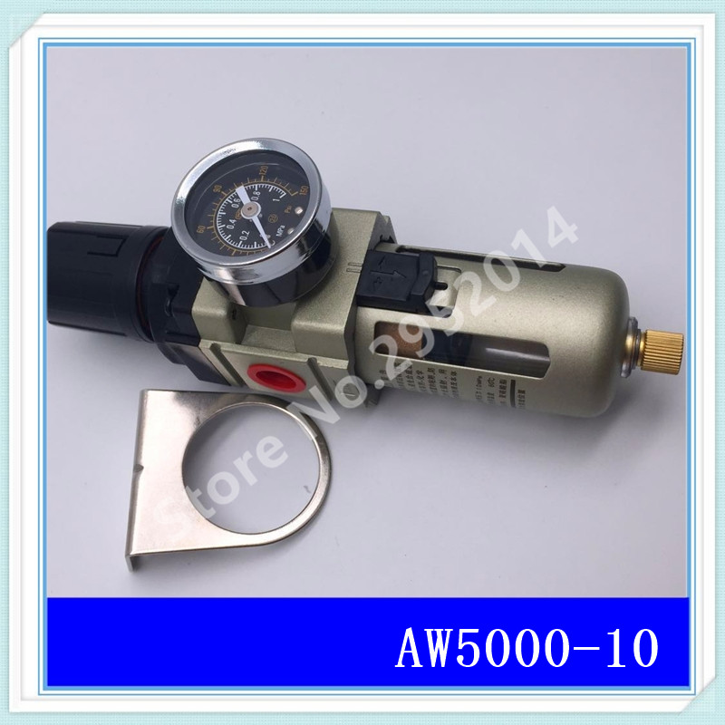 AW5000-10 G1 Pneumatic air compressor filter pressure reducing valve regulating valve aw30 02e smc pressure regulating filter with bracket pneumatic air source