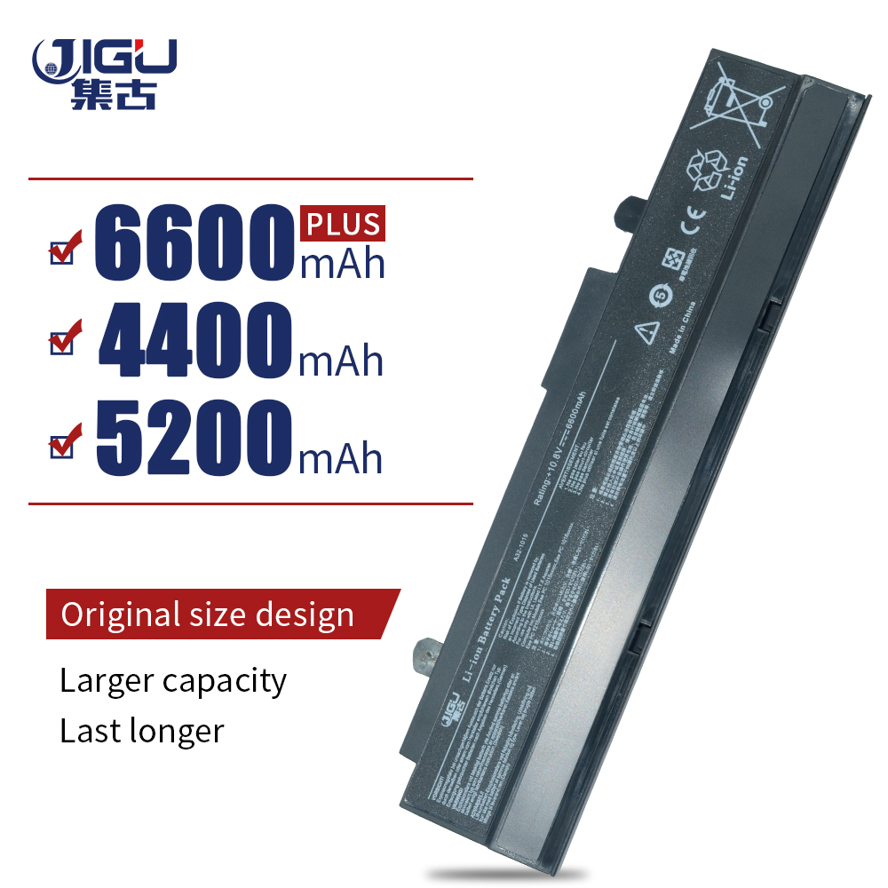 JIGU 6Cells Laptop Battery For Asus A31-<font><b>1015</b></font> <font><b>A32</b></font>-<font><b>1015</b></font> AL31-<font><b>1015</b></font> PL32-<font><b>1015</b></font> Eee PC 1011 <font><b>1015</b></font> 1015P 1016 1016P 1215 1015px image