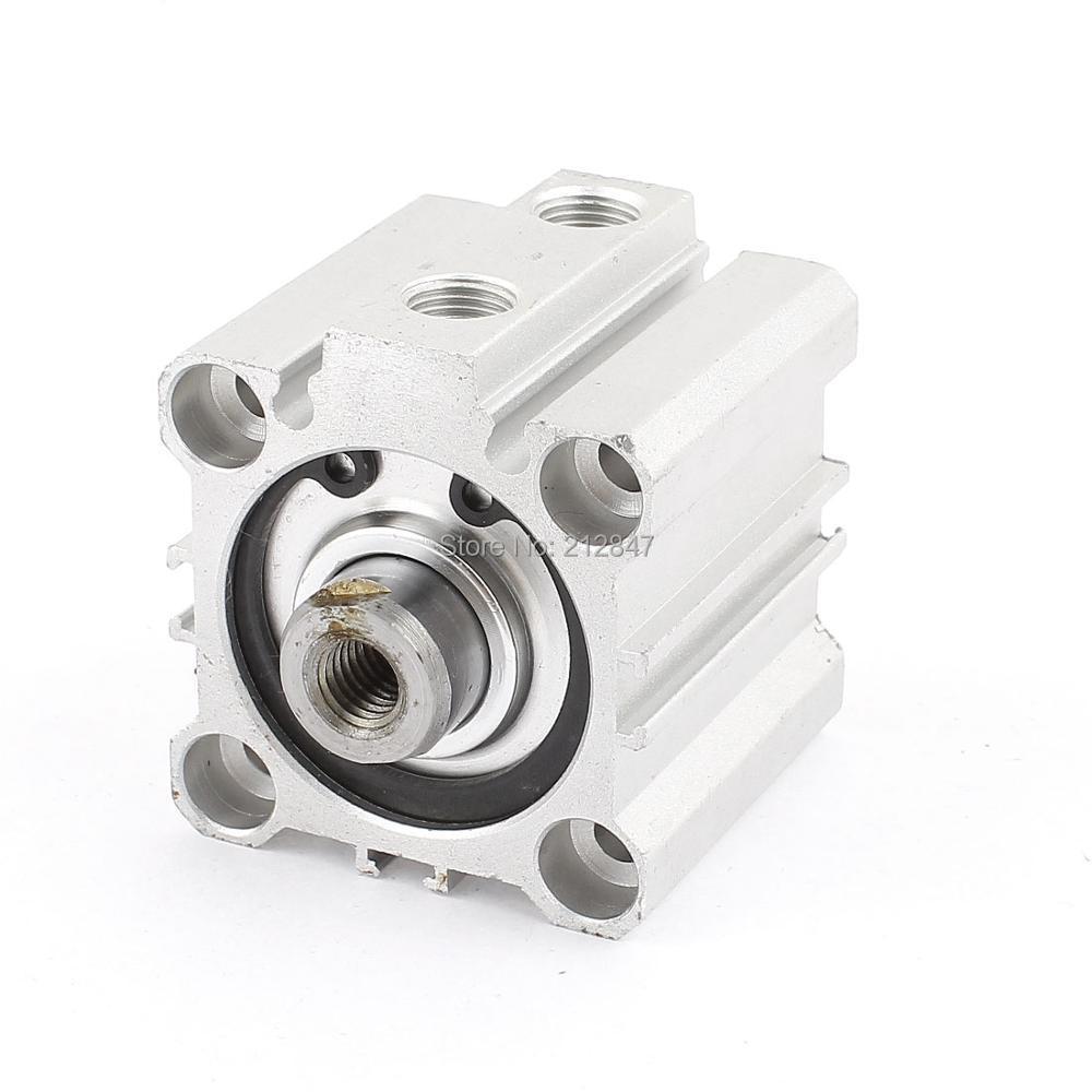 CQ2B32-20 20mm x 32mm Aluminium Pneumatic Compact Air Cylinder разъем на cq vd5005w