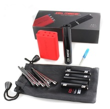 FYF104 Coil Master V4 100% Authenitc 6-in-1 Coil Jig Kit with Authenticity Scratch Code Cable Wire for RDA DIY Atomizer