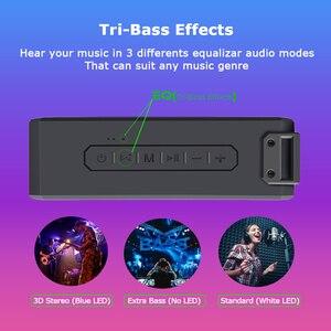 Image 3 - Lewinner X3 haut parleur Bluetooth IPX7 étanche Portable sans fil haut parleur 40W haut parleurs 15H Playtime avec caisson de basses supplémentaire