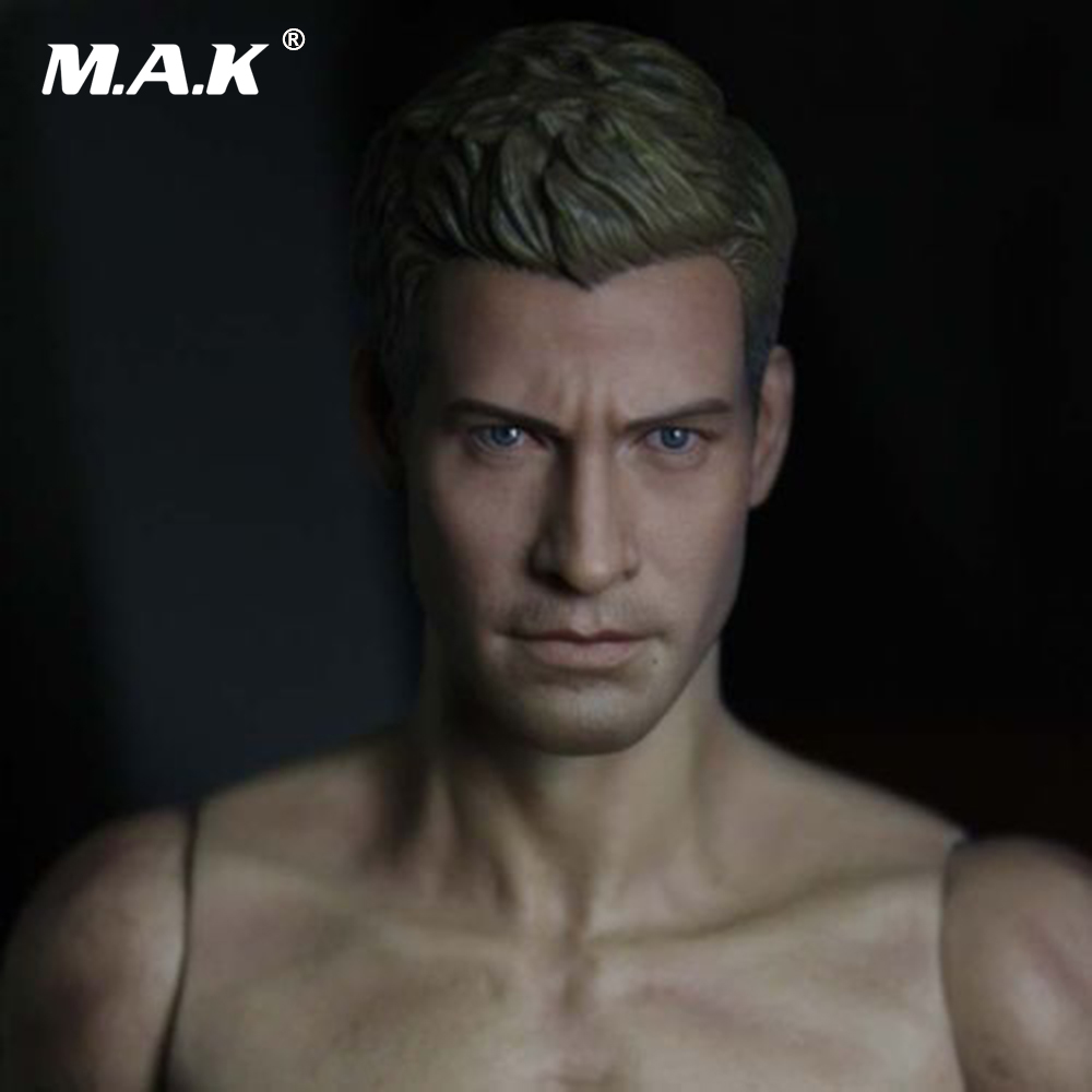 1/6 Scale Male Star Jake Gyllenhaal Head Sculpt Head Carving Model Fit 12 Action Figure Body Doll Toys Accessories