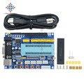 Макетная плата USB PIC16F877A  12 В постоянного тока  JTAG  модуль микроконтроллера MAX3232 ISP IO ICSP  программный эмулятор  1 комплект