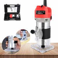 800W 30000rpm Elektrische Hand Trimmer Router Holz Carving Maschine Für Holz/Schrank Verarbeitung Handwerk Produktion