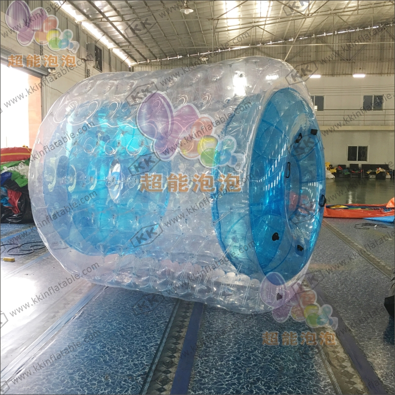 OEM Blue Clear Inflatable Zorb Water Roller Ball for Swimming Pool