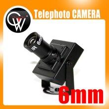 New 6mm lens Telephoto Camera 700tvl CCD Mini CCTV Camera security Camera Free Shipping
