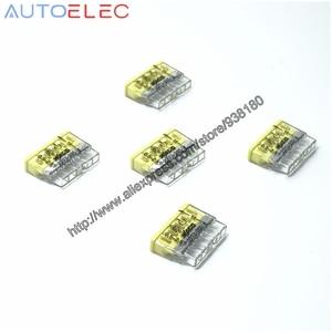 Image 2 - 100Pcs 2273 205 MINI pushfitตัวเชื่อมต่อขนาดกะทัดรัด 5x2.5qmm CLAMP CLAMPการเชื่อมต่อPush Wireสำหรับกล่องเชื่อมต่อ
