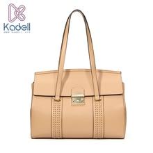 Kadell Tote Bag Designer Famous Brand Women Bags 2017 Shoulder Bags Waves Luxury Handbag Messenger Bags Purse Khaki Bolsas
