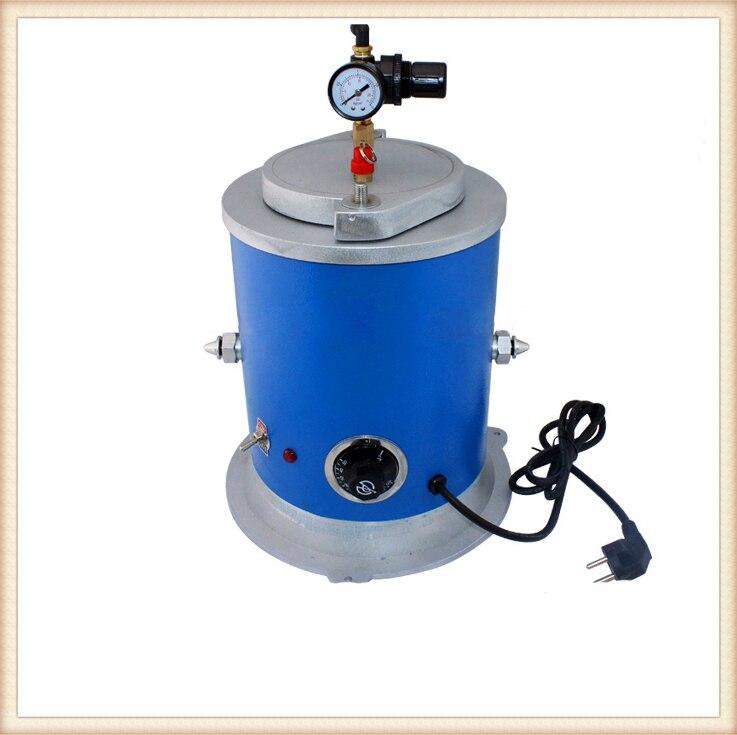 220V Mini Columnar Vacuum Wax injector, Wax injection machine,Mini Wax Casting Machine недорого