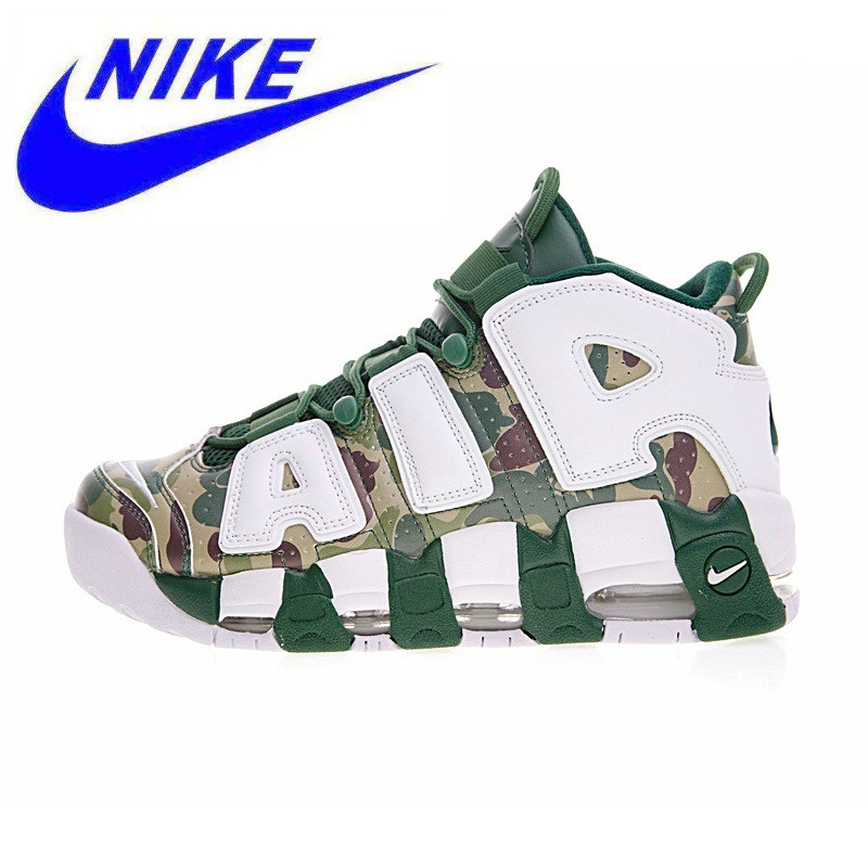 d45fac370a4455 Nike Air More Uptempo Hoop Pack New Arrival Official Breathable Women s  Basketball Shoes Sports Sneakers Trainers 921948-602