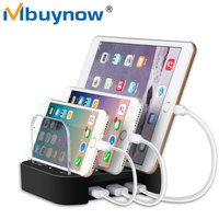 3-Port Universal USB Charging Station 3 in 1 Smart Phone Fast Charger Dock Holder Power Adapter Stand For Mobile phone tablet PC
