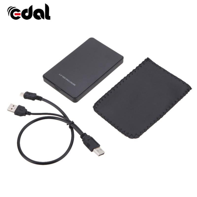 USB 2.0 HDD Hard Drive Case 2.5 inch SATA box 2TB External Enclosure Mobile Disk Box for Cases laptop hard drivec Hard Disk hot