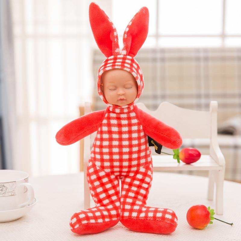 Stuffed e Plush Animais 25cm rabbit plush stuffed baby Function : Toy , gifts