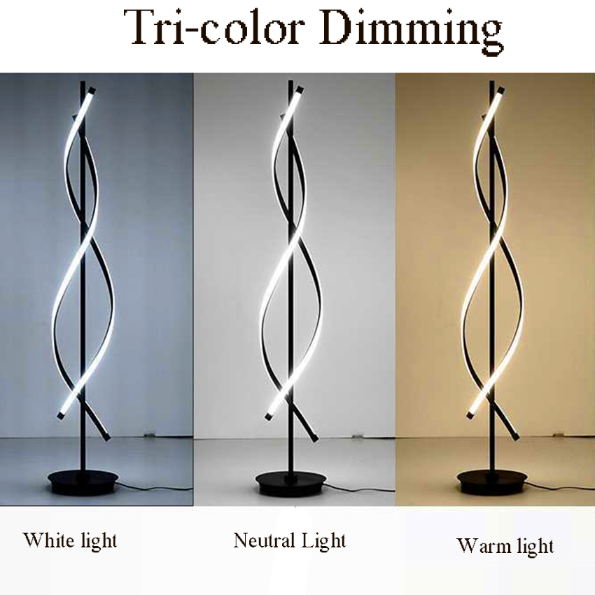 Modern Standing Lamp Lamps for Living Room Floor Deco Salon Reading Japanese Style Study