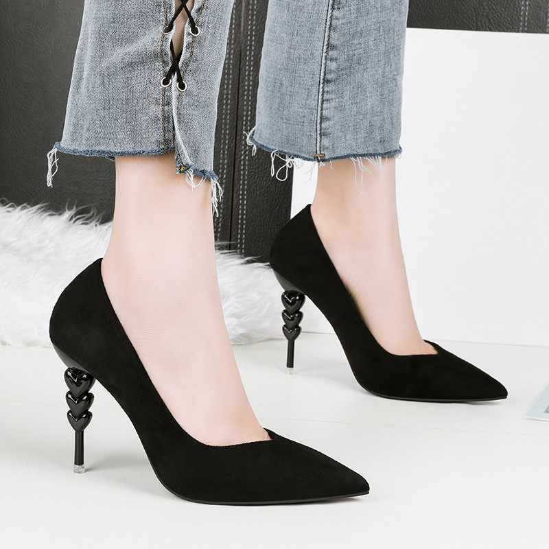56a201511069 ...  D Henlu  2019 Spring Women Heels Pumps Sexy Shoes High Heels Party Shoes  Women Red ...