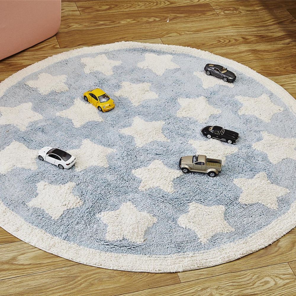 цена на Play Mats Toys Rugs Crawling Surface Carpet Developing Children Game Pad Kids Cotton Blanket Floor Room Decoration Baby Gifts