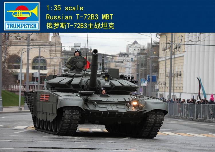 Trumpeter 1 35 09561 Russian T 72B3 MBT Mod 2016