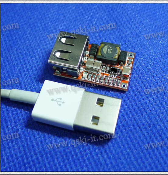 1pcs 6V-24V to 5V 3A USB Charger for MP3 MP4 Phone DC-DC Converter Step Up Boost Module 1pcs 1500w 30a dc dc cc cv boost converter step up power supply charger adjustable dc dc booster adapter 10 60v to 12 90v module