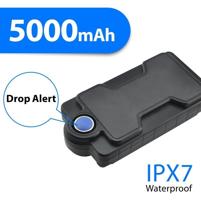 TK05 Impermeabile GPS Per Auto Tracker GSM GPS Loactor Per L'automobile del Camion di Telecomando Monitoraggio Audio di Goccia di Allarme APP Web Gratuito A Vita pista - 3