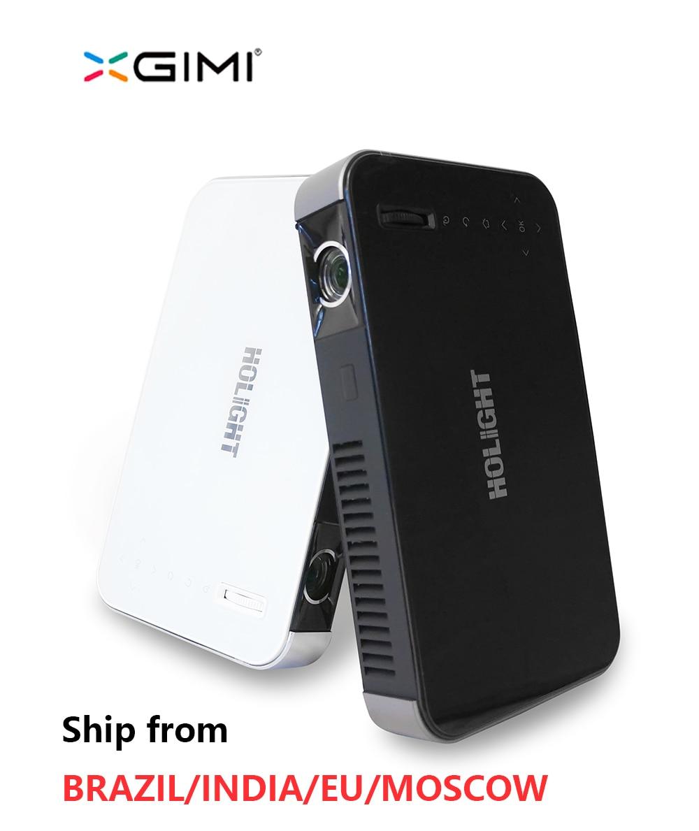 Holight 27 m XGIMI Z3 Full HD portable DLP mini projecteur 3D proyector led tv beamer Construire-dans la batterie WIFI Android 4.4 Bluetooth