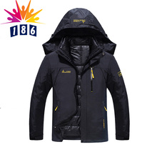 new winter jacket male female Down jacket Waterproof windproof leisure jacket Plus thick velvet Warm jacket