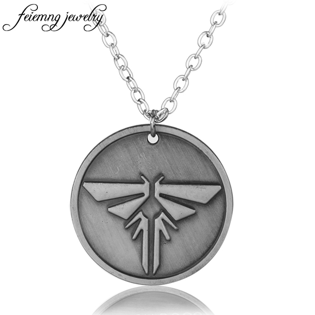 Feimeng jewelry the last of us necklace the last survivors round feimeng jewelry the last of us necklace the last survivors round grey firefly pendant necklace for aloadofball Choice Image