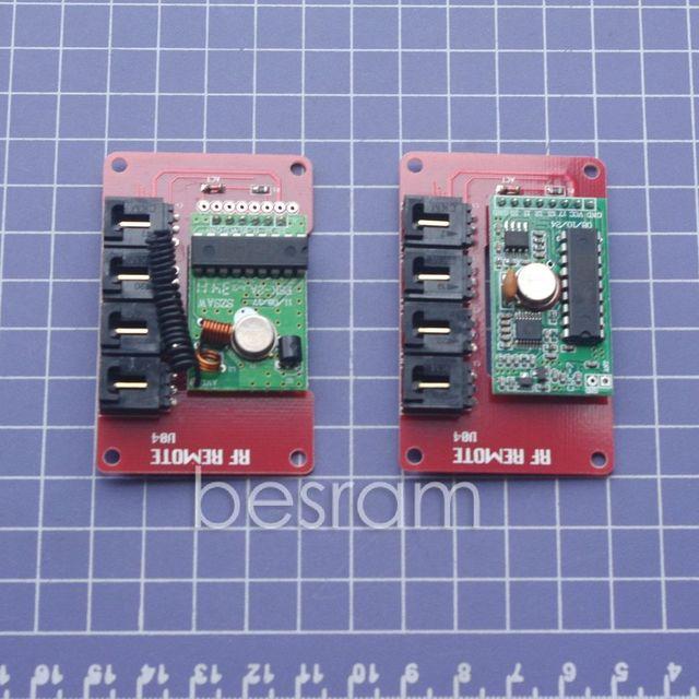 433 Mhz Transmissor RF e kit Módulo Receptor para Arduino Compatível
