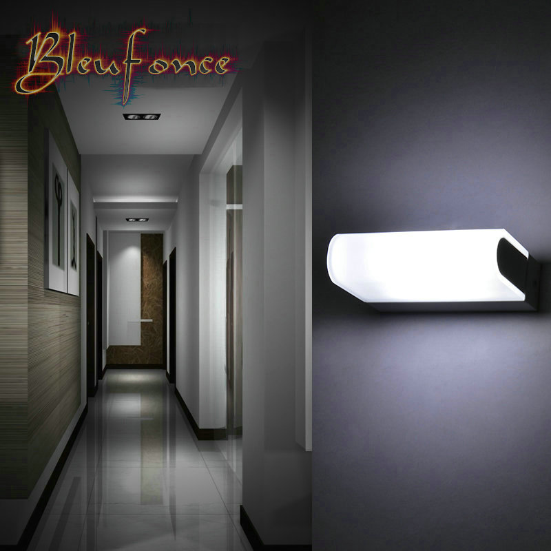 Indoor wall lamps 6w led wall wall lamp acrylic lights for Minimalist living websites