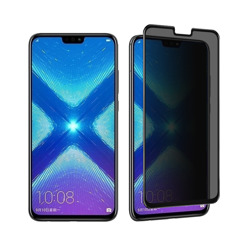 9H Full Cover Protection Privacy Tempered Glass For Huawei Honor 8X Max Anti-peeping Screen Protector For Honor 8X Glass Film