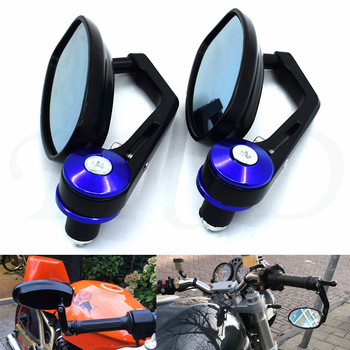 Universal accessories 22mm 7/8 Handlebar End Motorcycle Side Rearview Mirrors For BMW K1600 K1300 K1200R K1200S R1200RT R1200ST image