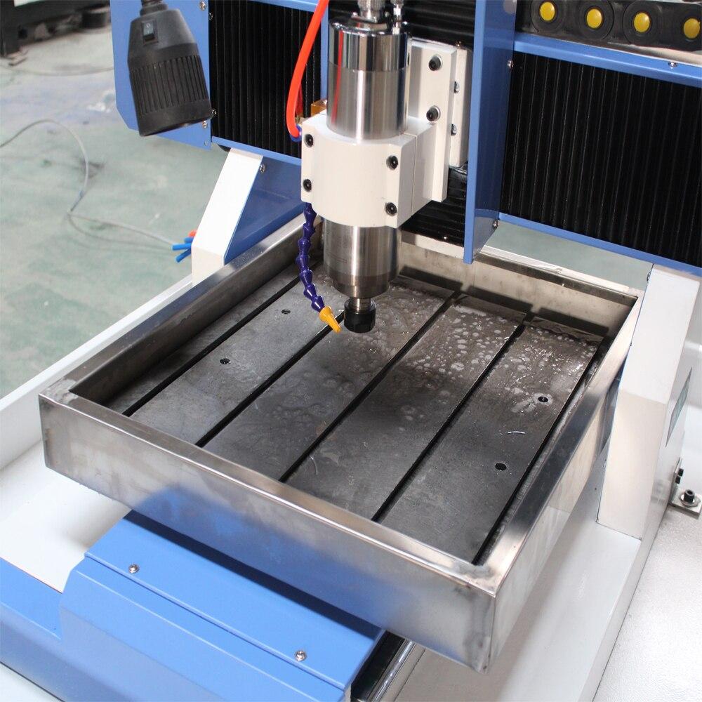 AK4040 table mobile CNC mini routeur CNC kit à vendre/mini CNC fraisage pour le métal - 4