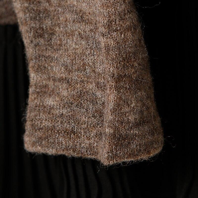 Poupée Col Du À Avec Chandail Et Color Artistique Base Fin Ga Fil M8518 Pour Haut ExgYH7Tq