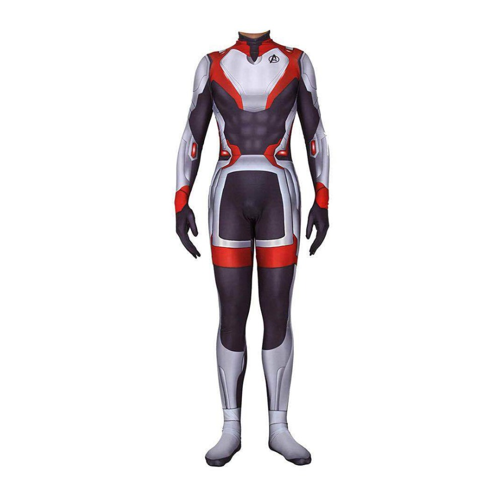 Avengers Endgame Costume Hero Quantum Realm Cosplay Costumes 3D Zentai Bodysuit Jumpsuit Halloween Party Props Dropship
