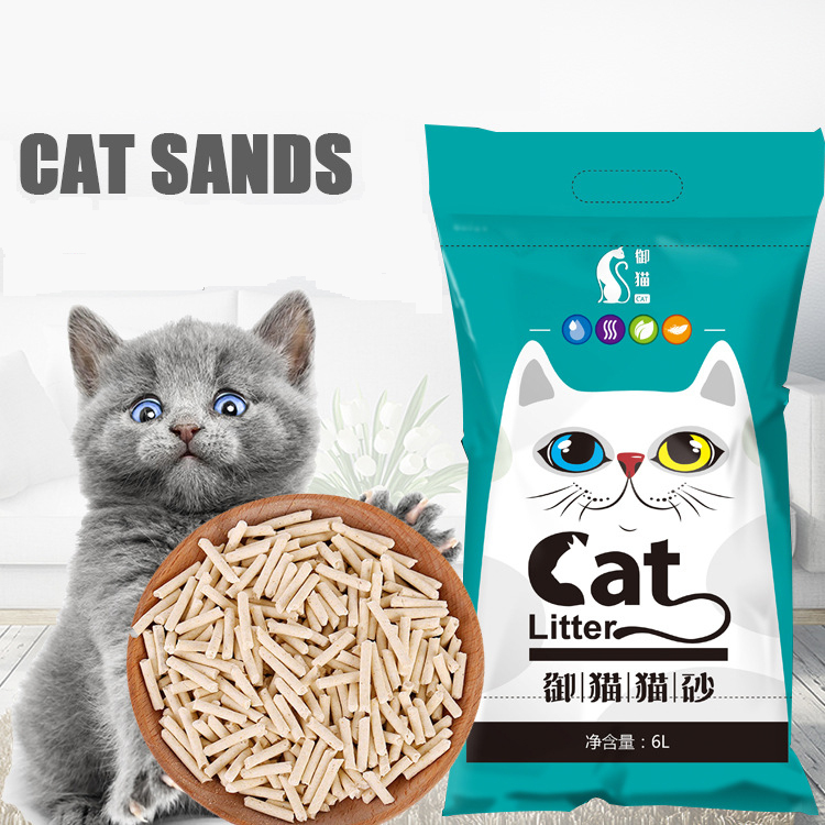 Purely Natural Dust free Tofu Cat Litter Sands Green Tea Flavored Deodorant Clean Pine Sand Kitten Cleaning Send Free Cat Shovel