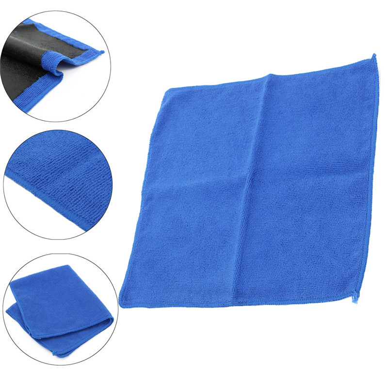 5Pcs Car Clay Bar Microfibre Mitt Detailing Washing Paintwork Cleaning Cloth Towel Car Wash & Maintenance Parts Accessories