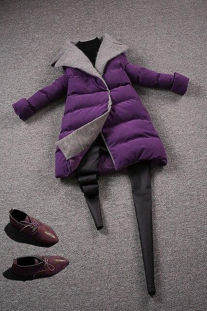 Campeonato de europa de invierno ropa abajo chaqueta de invierno nueva mujer abajo jacketdo667