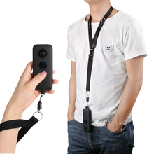 Insta 360 Video Camera Accessories Quick-Release Neck Strap Lanyard Sling Wrist for One X Holder