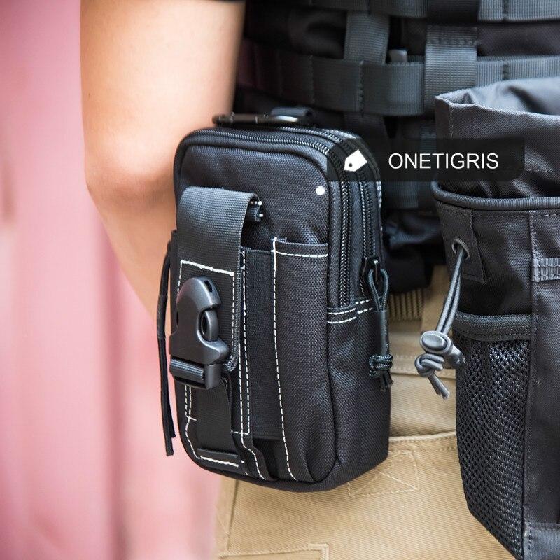 Prix pour OneTigris 1000D Nylon Taille Sac Pack Compact MOLLE EDC Poche Ceinture Sac pour iPhone6s iPhone7 Plus