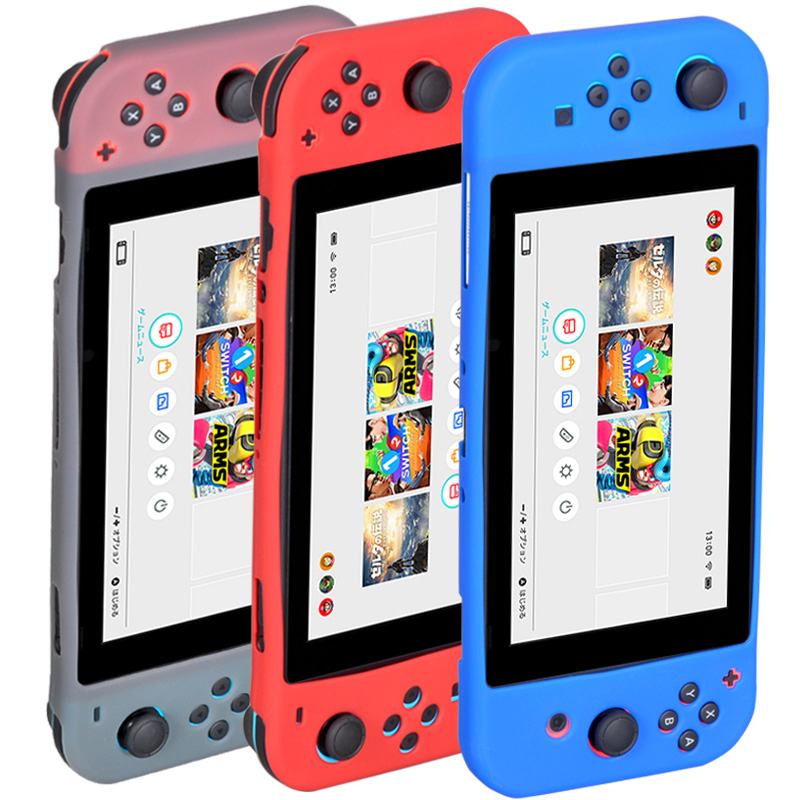for Nintend Switch Controller Silicone Rubber Cover Case for Nintendo Switch NS NX Luxury Silicon Case TPU Back Cover Case