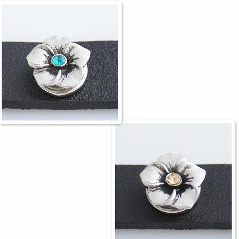 12mm jengibre broches joyería pequeña metal mini snap beads joyería fit pulseras brazalete pequeño snap joyería KB3113-S