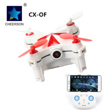 Cheerson CX-OF Wifi FPV Quadcopter Mini Selfie Drone with Camera Optional Flow Sensor RC Helicopter Pocket Dron 6-Axis Gyro 4CH