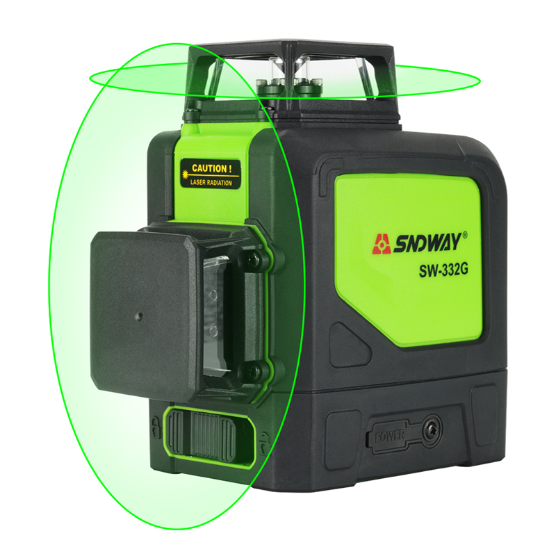 Sndway 8 lines laser level 360 Horizontal And Vertical Cross Powerful Red Laser Beam Line leveler