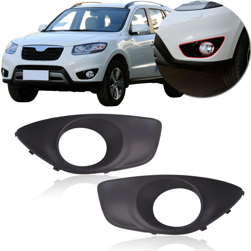 2010 Santa Fe Hyundai: CAPQX High Quality Front Bumper Fog Light Cover For For
