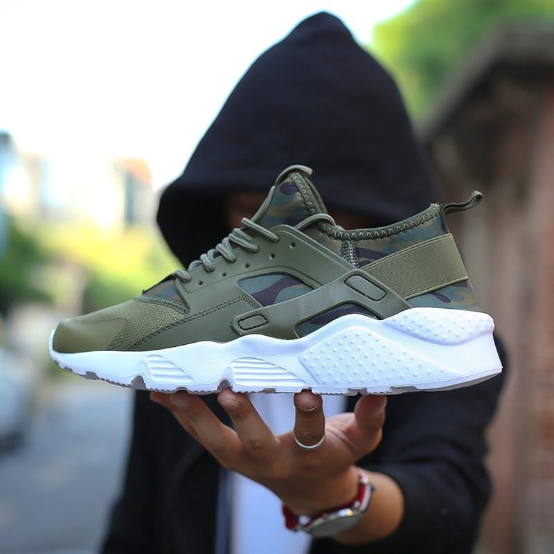Zapatos hombre transpirable zapatos corrientes de los hombres zapatillas de deporte rebote deporte al aire libre de verano Zapatos de formación profesional marca