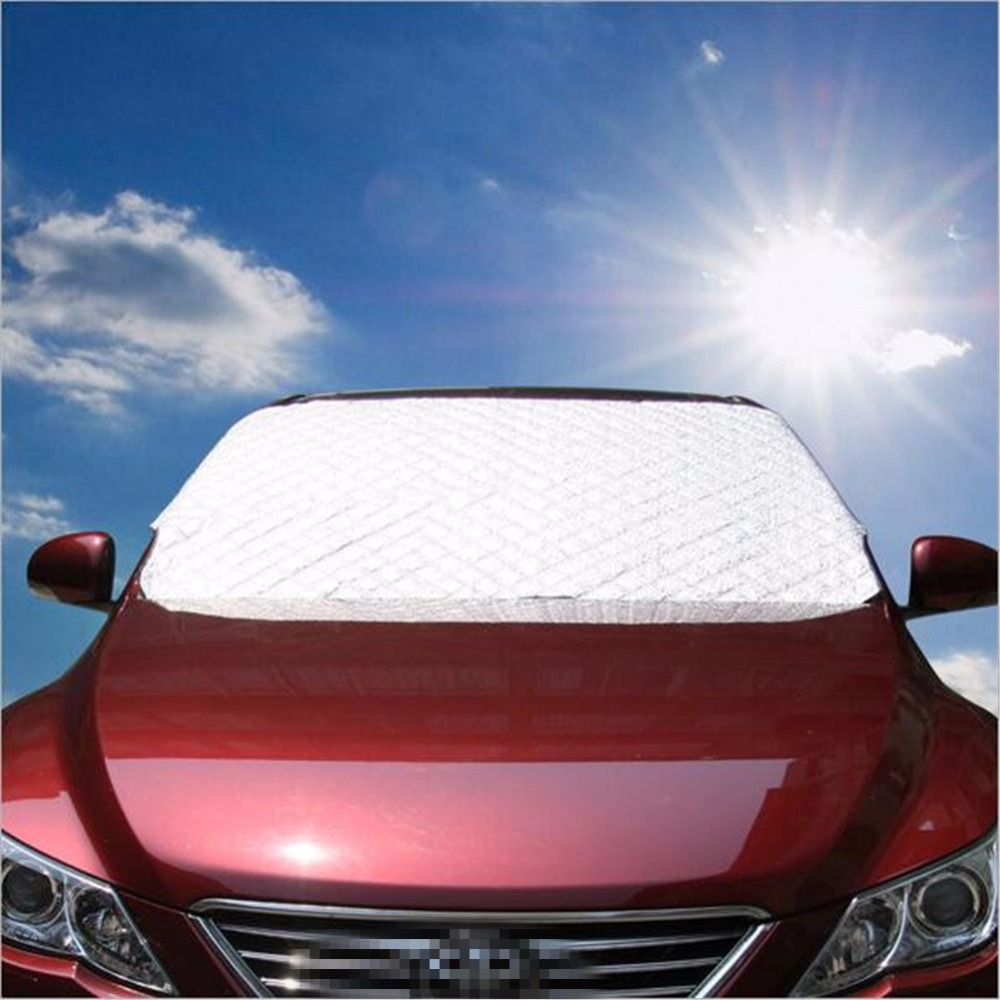 Auto Sonnenschutz Windschutzscheibe Schneedecke Frontscheibe
