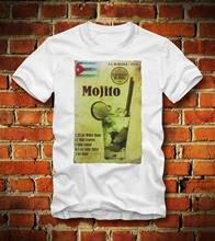 T SHIRT MOJITO CUBA KUBA HAVANNA COCKTAIL ALKOHOL ALCOHOL REZEPT NEUCool Casual pride t shirt men Unisex Fashion tshirt