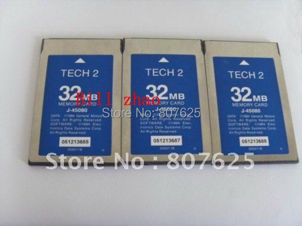 high quality GM TECH 2 CARD